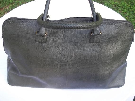 Retro Green Overnight Duffle Bag Tote