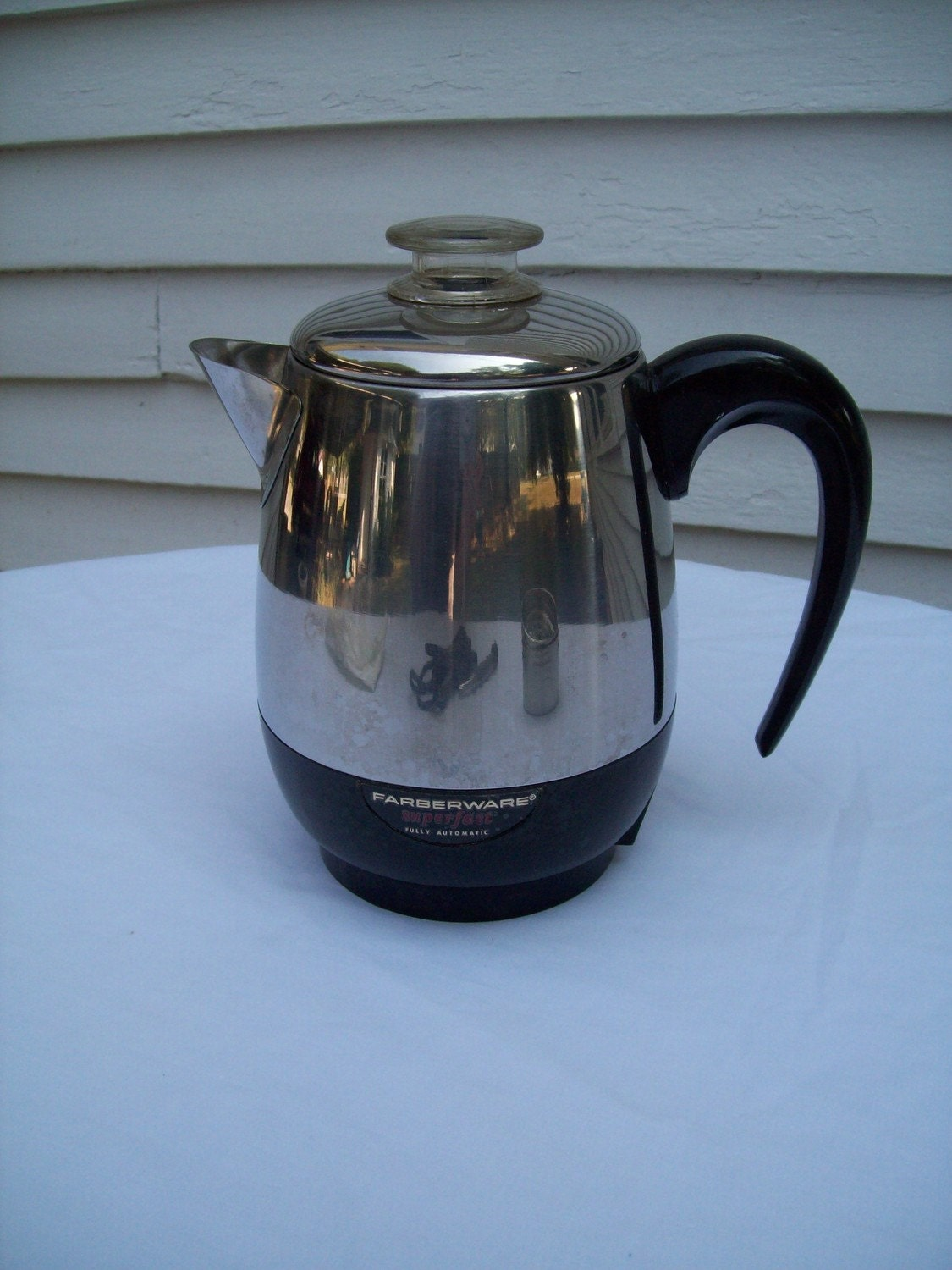 Coffee Maker With Percolator : Vintage Faberware Electric Percolator Coffee Maker 4 by ssmith7157