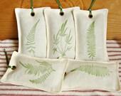 Linen Lavender sachets - Fern Collection