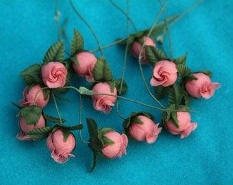 1 inch poly rosebuds 144pcs