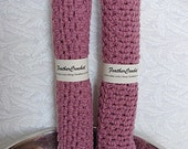 Dusty Rose Dish Cloth Set