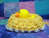 Rubber Duckie Purse - Yellow