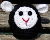 Plush Little Black Lamb