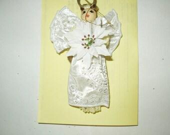 Macrame Doll Ornament 1
