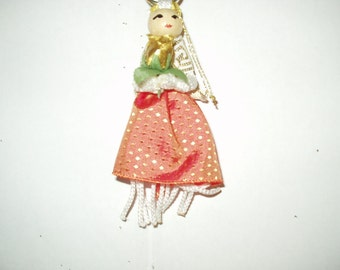 Macrame Doll Ornament 3