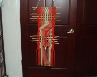 Macrame Diamond Wall Hanging
