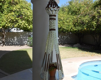 Macrame Hanging Table, Table Magic (Reduced)