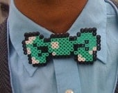 8 Bit Bow Tie By  Clever Trevor
