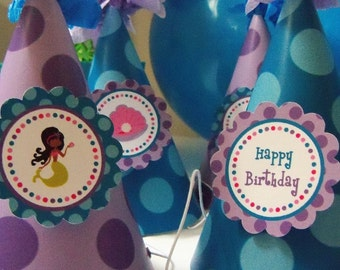 Mermaid - Under the Sea Party Hats