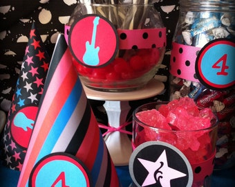 Rock Star Party Collection