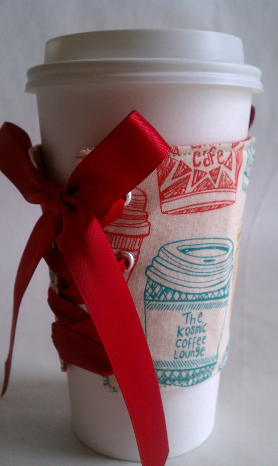 Strapless Cup Corset - Coffee Cups by The Cup Corset