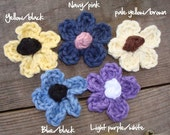 Small Flower Clip