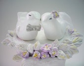 Ready to Ship - Lavender Wedding Cake Topper