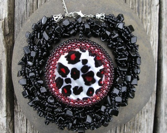 Wild - Beaded Crocheted Necklace