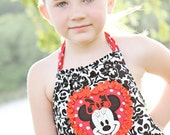 Disney Vacation Dress avaiable in sizes 18 months to 7 years custom made