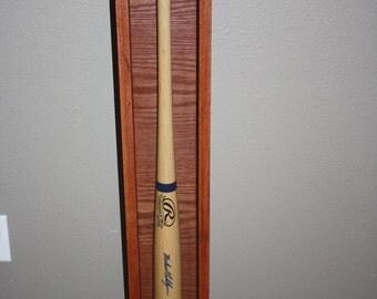 oak bat display case hand made