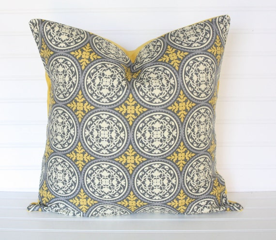 ONLY 2 LEFT 1 18x18 Couture Medallion pillow cover (Being discontinued from our shop)
