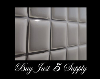 20 Epoxy Resin Stickers-Domes-Dots-Drops..1 Inch Squares...Fast and Easy..Peel and Stick..No Mess Pendants and Magnets
