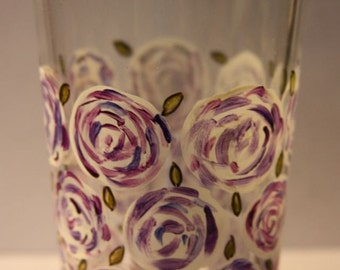 Tout Est En Rose (Painted Glass)