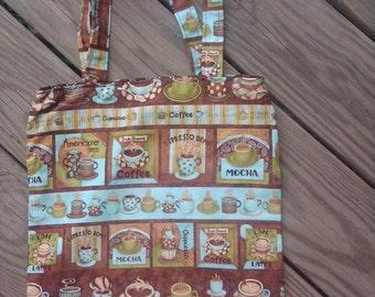 Coffee Reversible Tote Bag