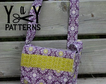 Scripture Tote Messenger Bag PDF Pattern