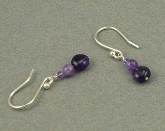 Purple Haze amethyst earrings
