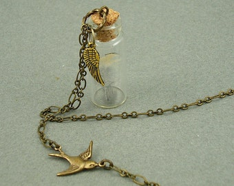 Flight of the Dove necklace