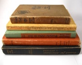 vintage and antique german text books lot. from the 1930s to 1960s. deutsch library.