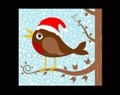 Christmas Bird Pattern, Christmas Cross Stitch Pattern, Bird Pattern, Birds, Cross Stitch Pattern by NewYorkNeedleworks on Etsy