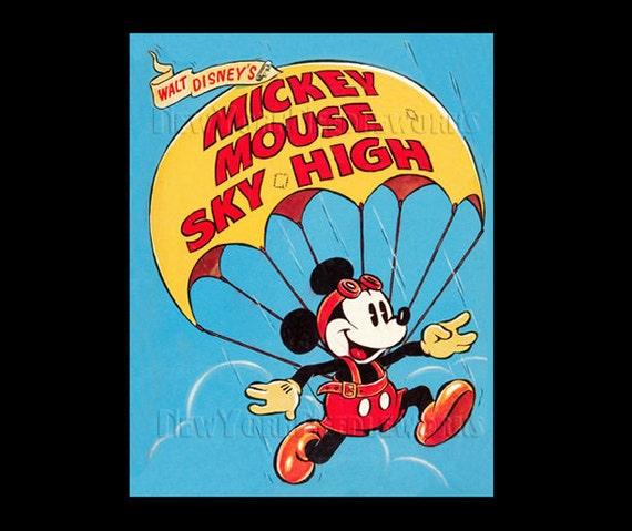 Mickey Mouse Cross Stitch, Disney Pattern, Cross Stitch, Disney Cross Stitch, Needlepoint,  Mickey Mouse from NewYorkNeedleworks on Etsy