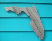 Florida (or any state) made of recycled fence wood