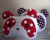 Polka Dot Panda Pillow