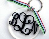 Personalized Round Key Chain