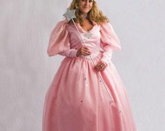 Glinda the Good Witch Ladies Costume Set - Custom Made Costumes,Wizard of Oz Costume, Glenda Costume, Adult Gown