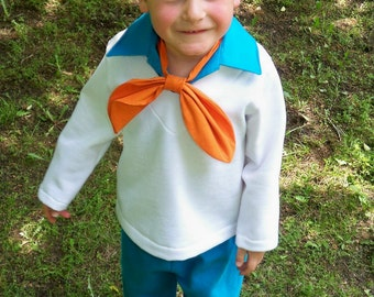 Fred Jones Costume - Custom Boys Costumes, Boys Fred Jones Costume, Scooby Doo Costumes, Family Costume Ideas, Scooby Doo Fred Costume