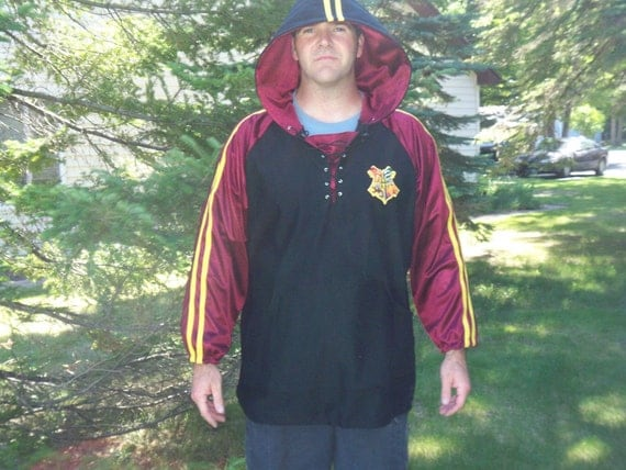 Harry Potter Goblet of Fire First Task Hoodie, Harry Potter Costumes, Cosplay Costume, First Task Outfit Movie Costume, Custom Mens Costume