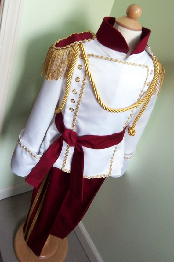 Stunning Boys Prince Costume - Custom Made, Prince Charming Costume, Toddler Boys Costume, Vacation Bound, Birthday Party Costume, Royal