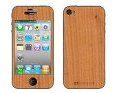Real Wood Skin - iPhone 4/4S - Cherry