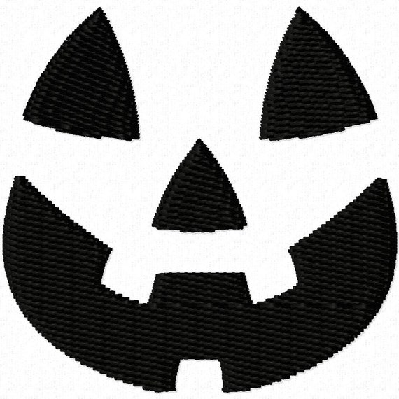 Digitizing Dolls Mini Pumpkin Face Fill Machine Embroidery Designs - 0.75  1  1.5  2 inch - Halloween - Perfect for Bows INSTANT DOWNLOAD