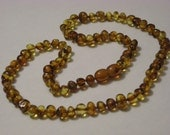 Adult Baltic Amber Healing Necklace