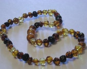 Multi Fade Baltic Amber Teething Necklace
