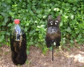 Scottish Terrier Metal Art