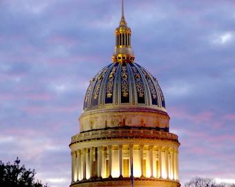 Golden Morning  In West Virginia  16X20