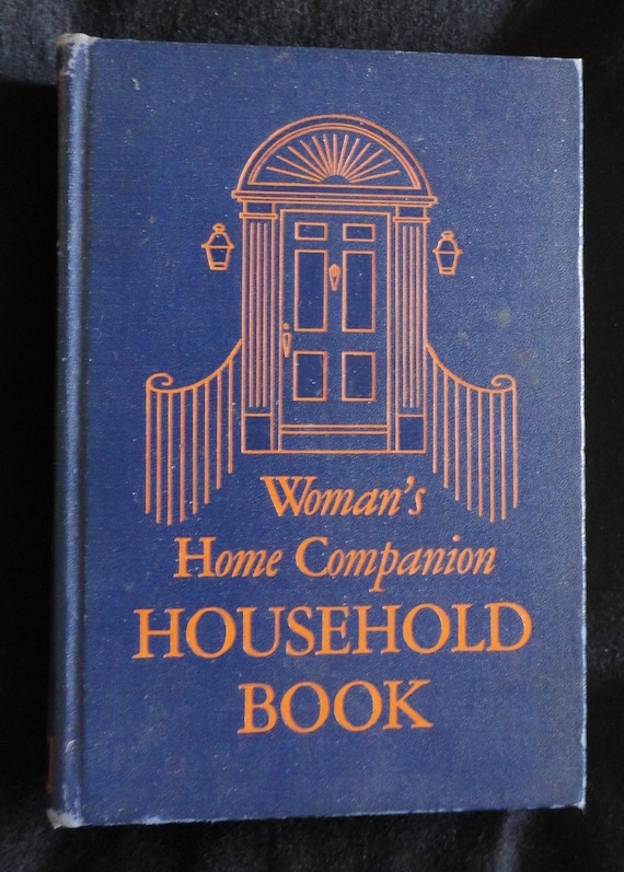 Woman's Home Companion Household Book 1950 Hardcover Illustrated 958 Pages Decorating Tips How To Run a House Hold