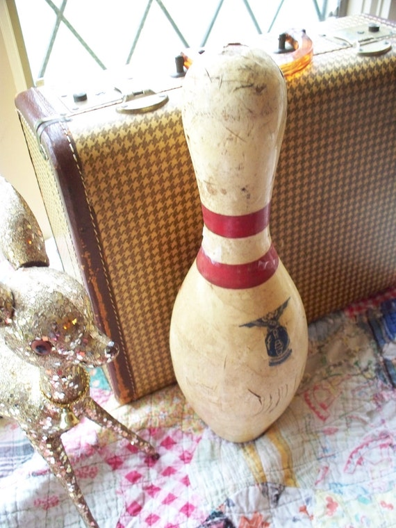 Bowling pin - authentic vintage AMF collectable