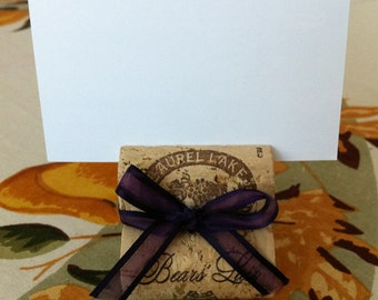 Custom Wedding Place Card or Table Number Holder