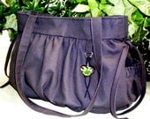 Black Cow Bubble Purse