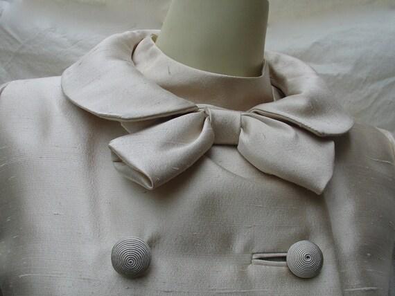 Sale 25% off Vintage Adolphe Zelinka mad men 1960s dress and jacket Boutique Adrienne
