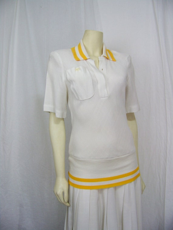 Vintage 1980s tennis dress Ronnie Heller Designs for MJ Neiman Marcus