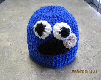 Cookie Monster Child's Hat